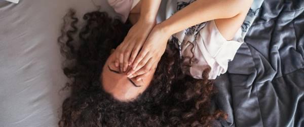 Foto de mujer con ansiedad