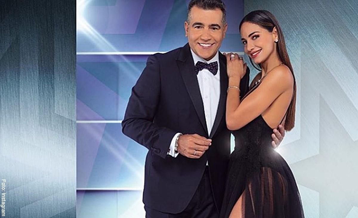 """El """"show"""" que hizo esposa de Carlos Calero por el beso con Valerie Domínguez"""