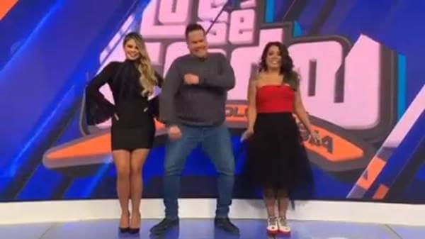 Foto de varios presentadores del programa
