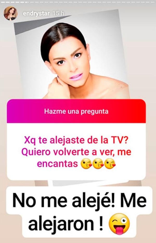 Respuesta de Laisa sobre la televisión