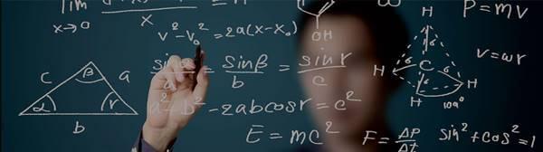 Foto de un matemático