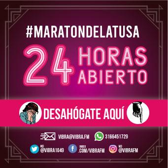 #MaratondelaTusa de Vibra
