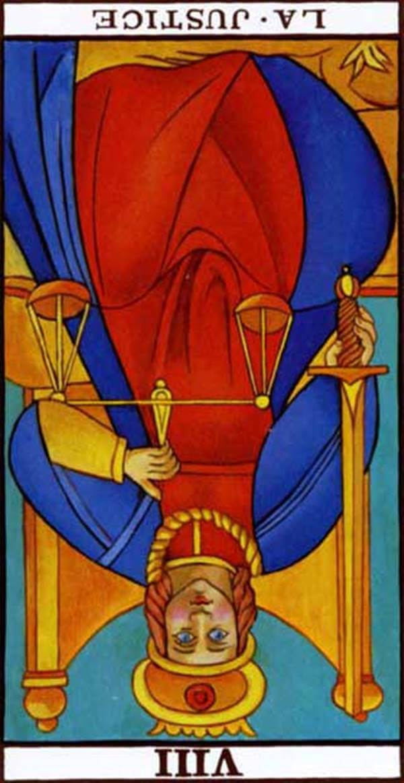 Imagen de carta Justicia reversa