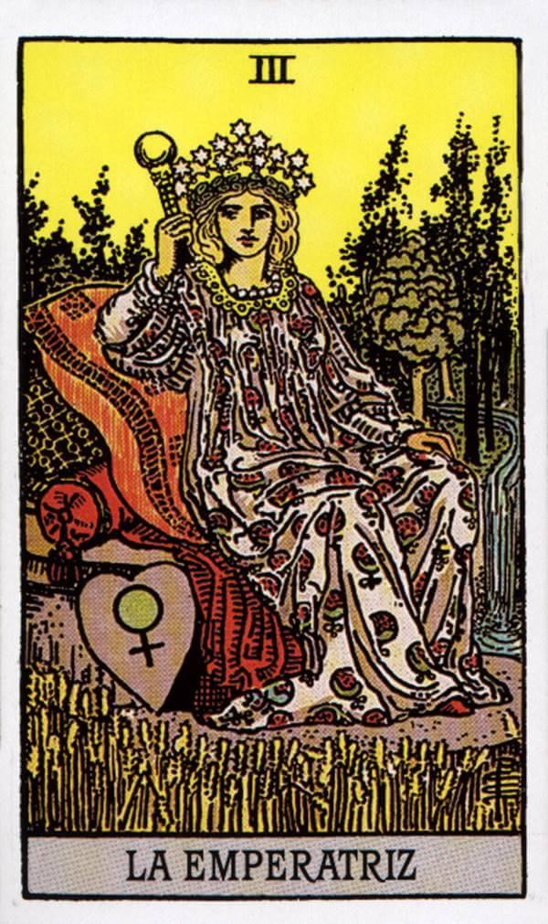 Imagen de carta La emperatriz