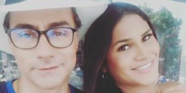 Mauro Urquijo y su esposa trans