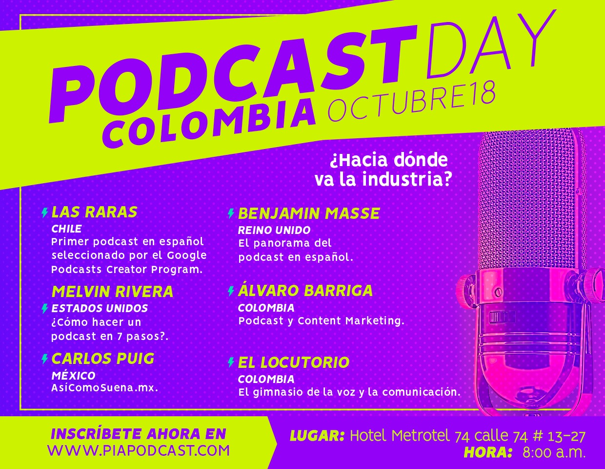 Podcast Day Colombia Lugar