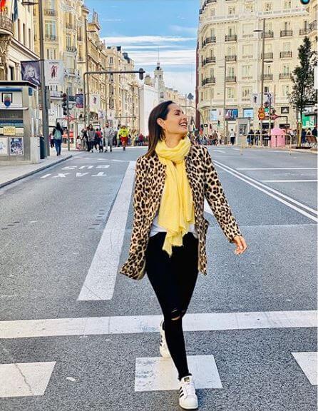 Carmen Villalobos en Madrid