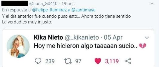 Respuesta al comentario de Felipe.