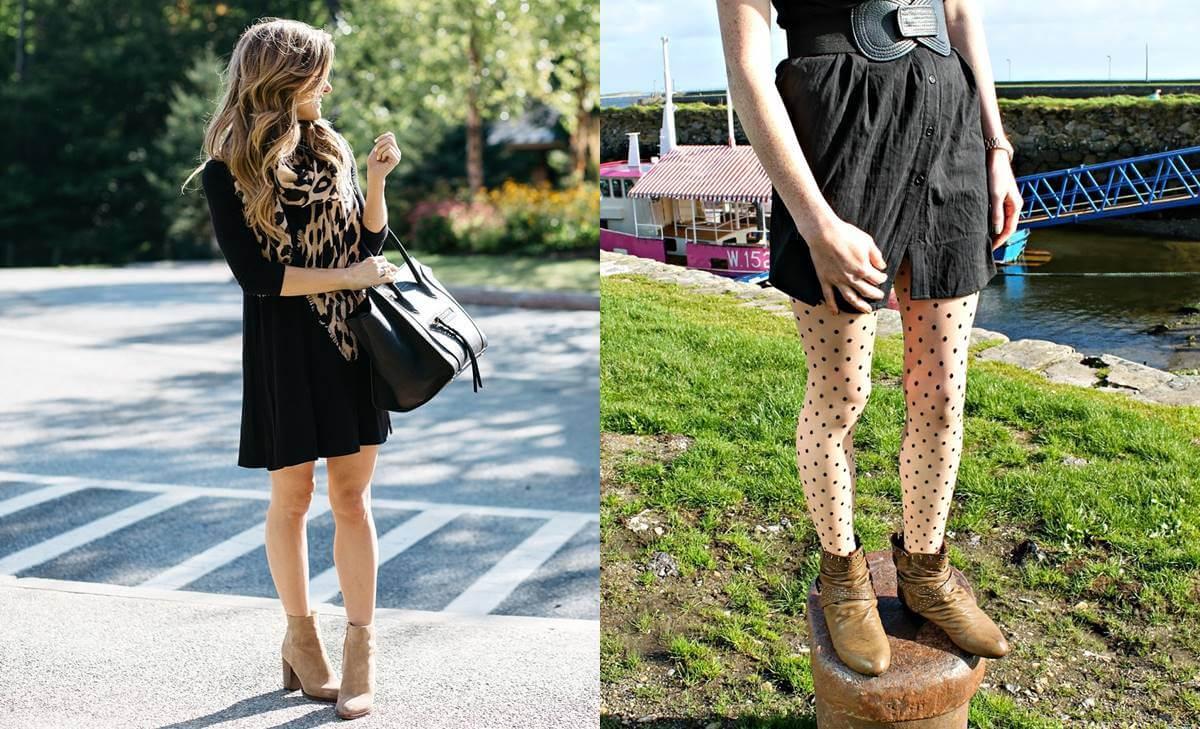 Cómo combinar vestidos con botines para lucir divina