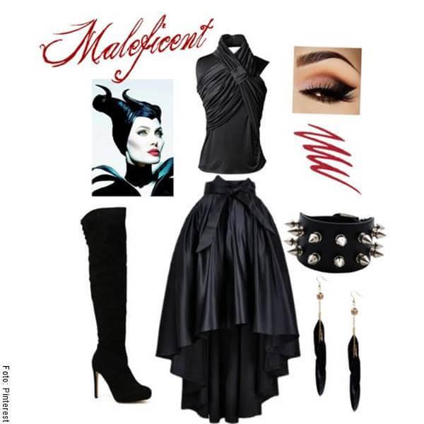 Foto de un vestido negro