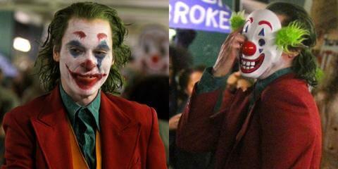 Joker disfrazado de Joker