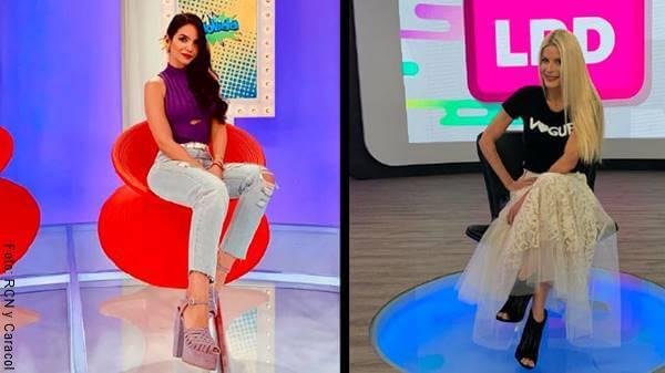 Foto de presentadoras de La Movida y La red enfrentadas