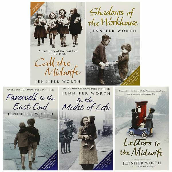 Foto de los libros de Call the Midwife
