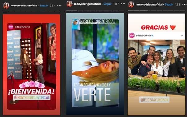 Pin de 3 historias de Instagram de esta famosa
