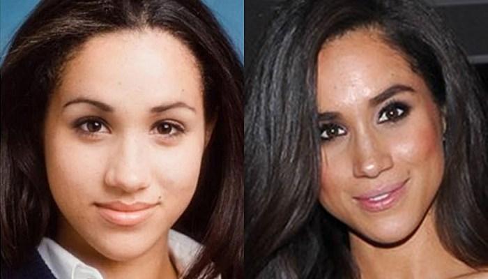 Meghan Markle antes y ahora