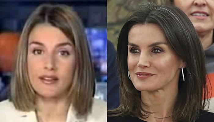 Letizia Ortiz antes y ahora