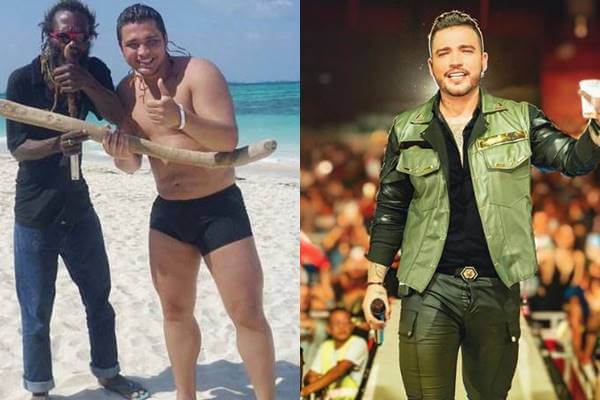 Foto de este famoso antes y después