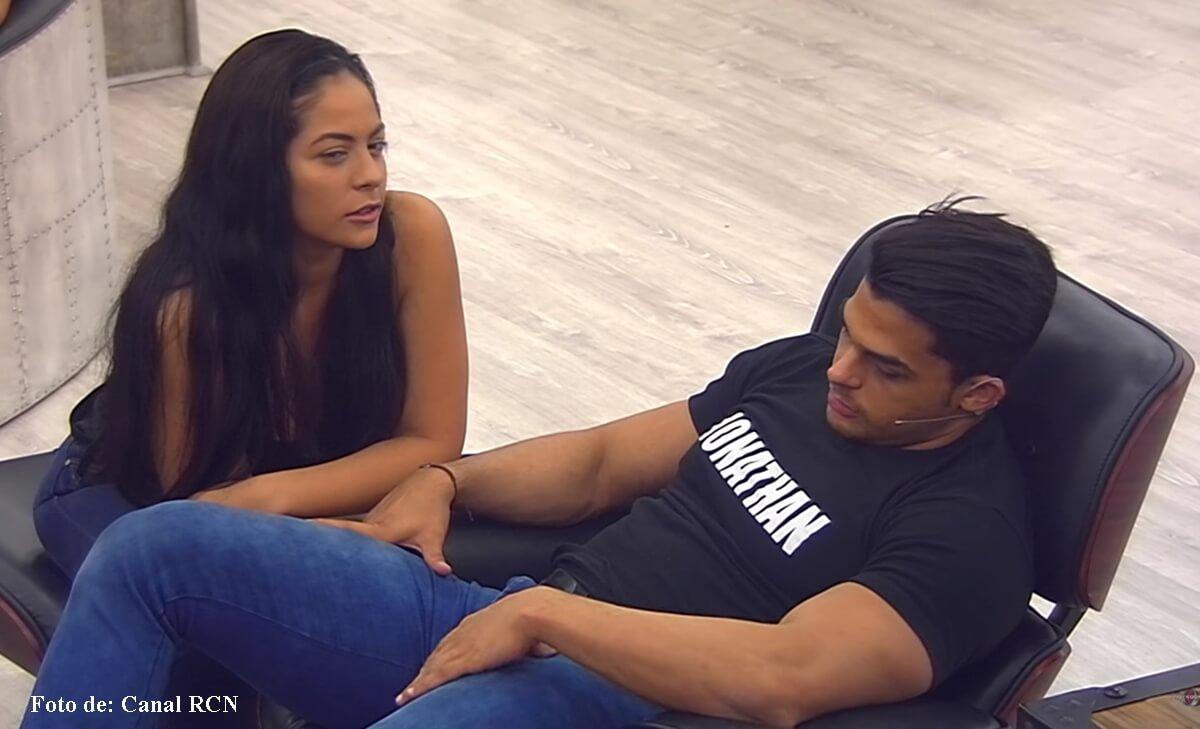 Jonatan Fierro y Laura Ojeda terminaron peleados