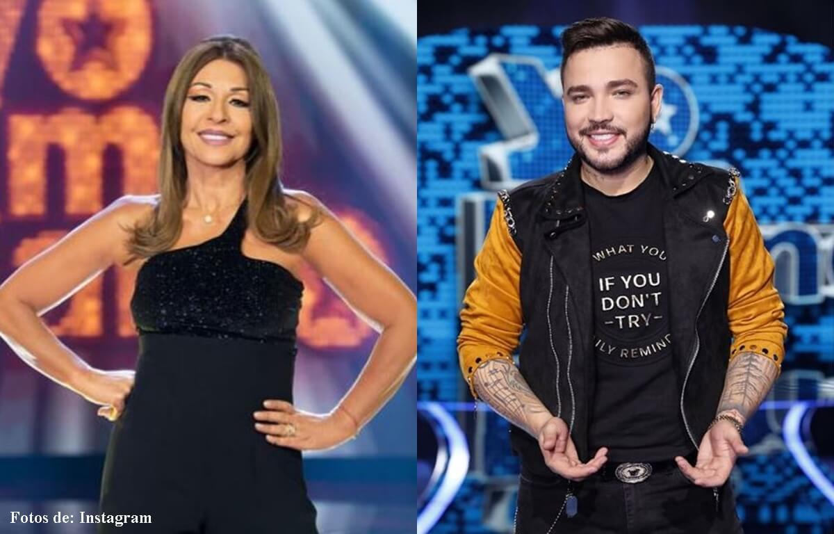La broma de Jessi Uribe no le gustó a Amparo Grisales