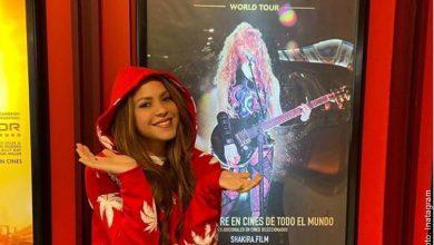 Película de Shakira sobre su gira revela oscuros secretos