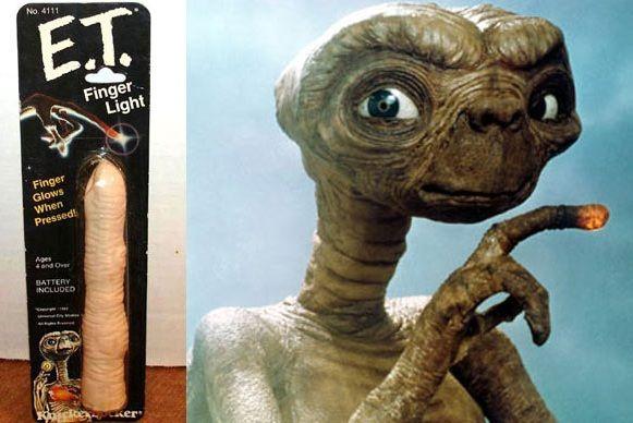 Foto del dedo de E.T.