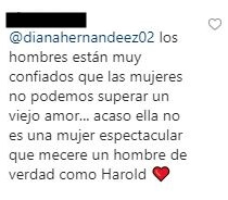 Respuesta al comentario de Carolina Cruz