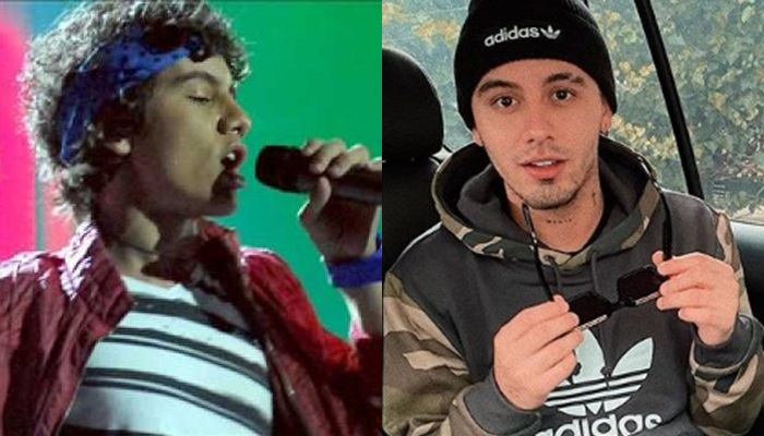 Dylan Fuentes antes y ahora