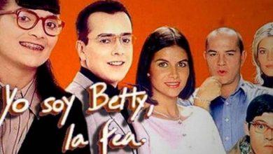 """Portada elenco de telenovela """"Betty, la fea"""""""