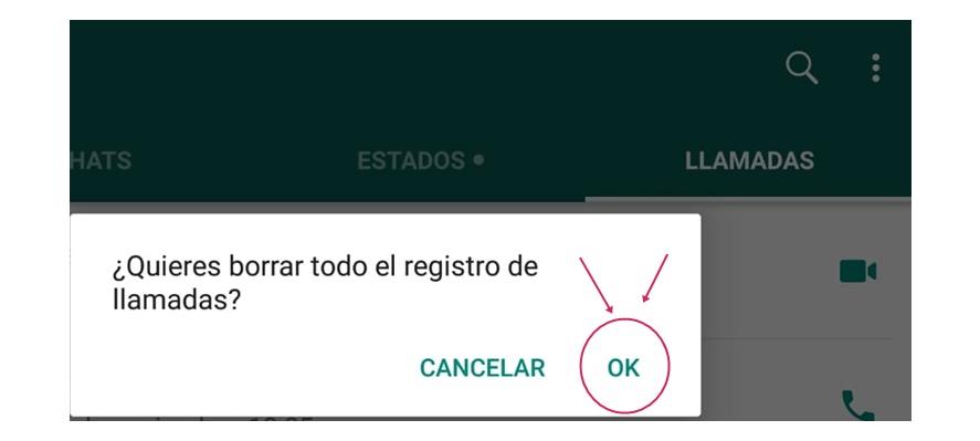 "Finalmente, confirma tu elección dando click en ""OK""."