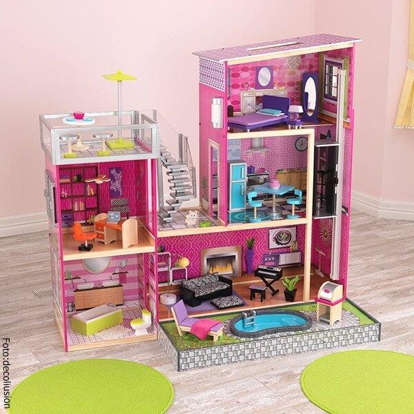 Casa de muñecas de los 80