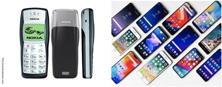 Nokia 11 reemplazado por smartphones.