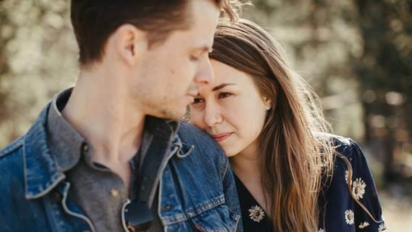 Foto de una pareja de novios