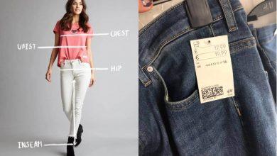 ¿Cómo saber la talla de ropa de una persona sin preguntar?
