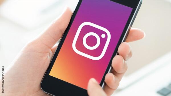 Instagram visto en Smartphone