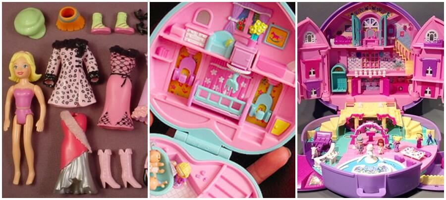 Polly Pocket y su set completo