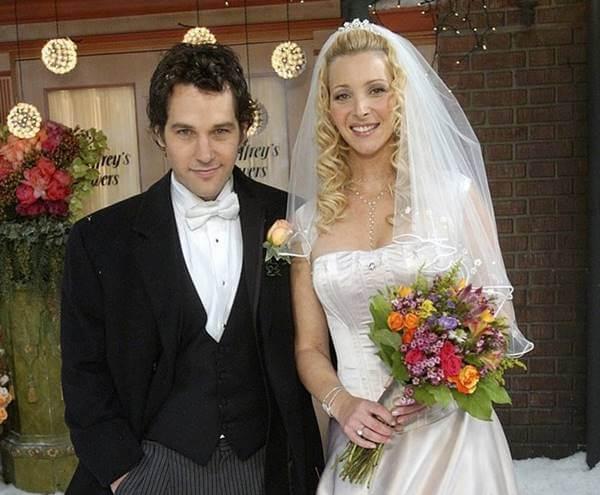Foto del matrimonio de Phoebe Buffay