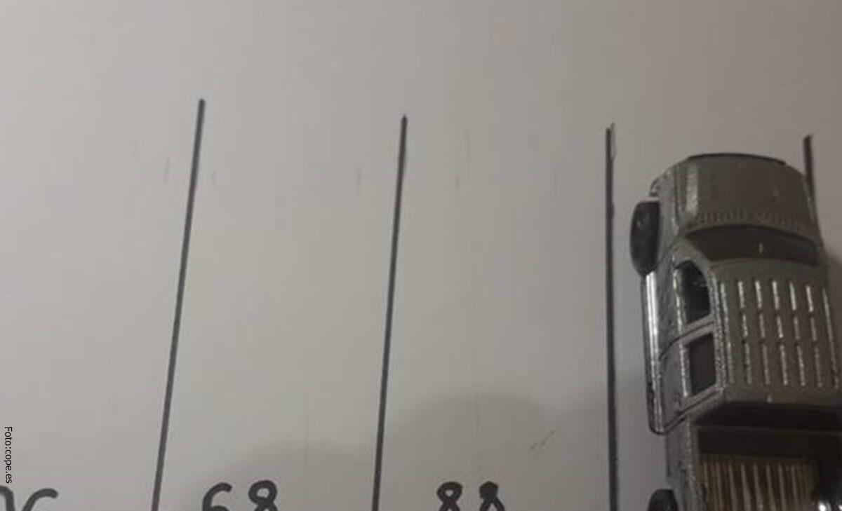Reto visual: ¿Puedes descifrar en qué parqueadero se encuentra el carro?