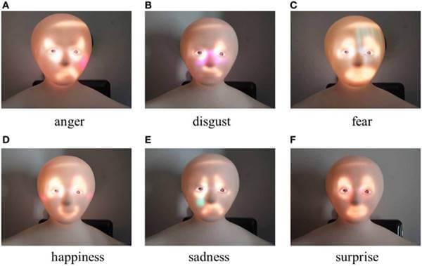 Imagen de rostro con distintas emociones