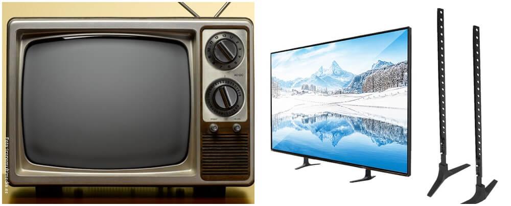 Tv de tubos catódicos reemplazado por tv LCD