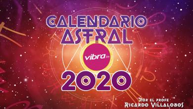 El Calendario Astral Vibra 2020 del profe Villalobos