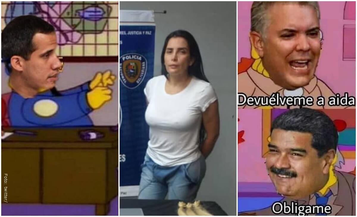 Captura de Aida Merlano deja los memes más ingeniosos