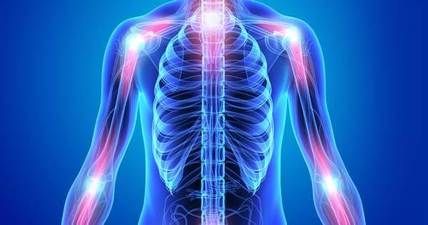 Imagen de un cuerpo humano con dolor, curarlos es uno de los beneficios del yoga