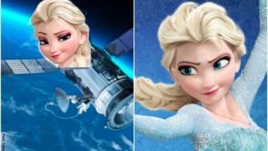 Elsa de Frozen se convierte en el primer meme del 2020