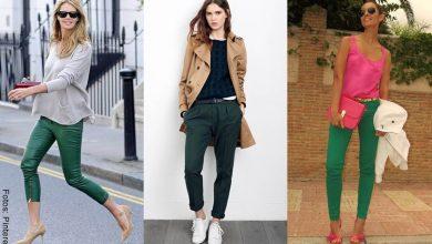 ¿Cómo combinar un pantalón verde? ¡No es imposible!