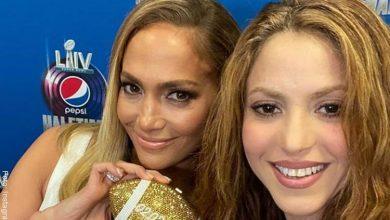 Confunden a Shakira con hija de Jennifer Lopez