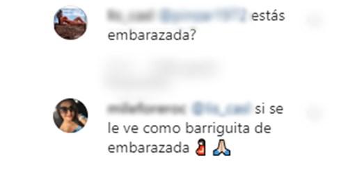 Daniela Ospina embarazada