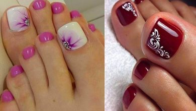 Decoración de uñas de pies de moda, ¿ya la conoces?
