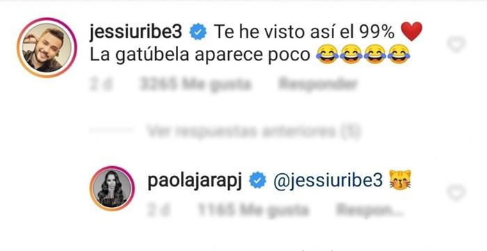 Comentario de Jessi Uribe a Paola Jara
