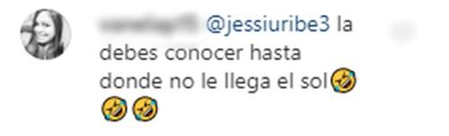 Comentarios a Jessi Uribe y Paola Jara