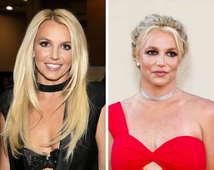 Mosaico de fotos de Britney Spears